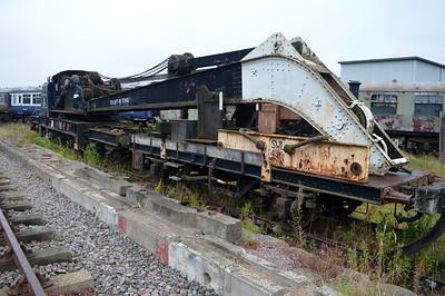 LNER 45t Cowan & Sheldon Crane 941602 and Runner ADB998500  25/08/14.