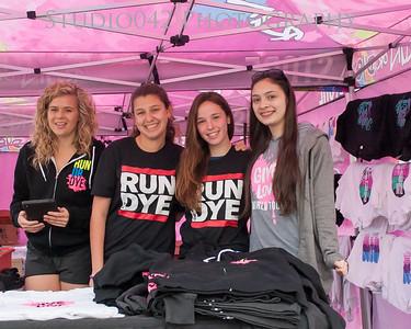 Run or Dye 2013 at Met Life Stadium Key Club
