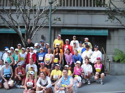 Running the Los Angeles Marathon