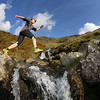 Mountain runner, Lake District, UK