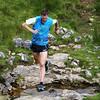 Fell runner, Yorkshire Dales, UK