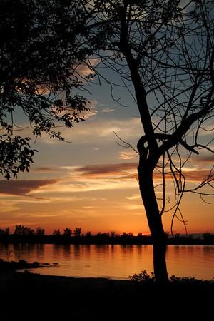 Sunset At Shirley's Bay