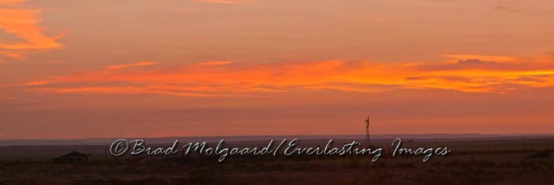 """Homestead Panorama"" / Eddy County, Carlsbad, New Mexico"