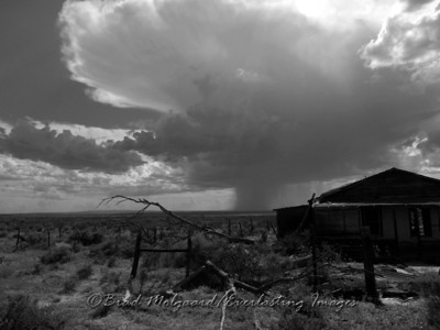"""Grand Rain Cloud"" - Eddy County, New Mexico."