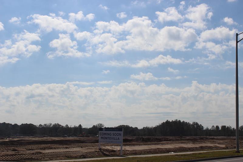 Bartram Park New Homes Construction Site