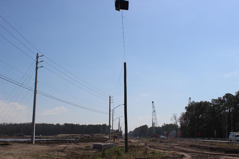 9B Construction near Phillips Highway