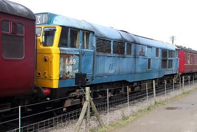 Class 31_31289 seen at Northampton & Lamport Railway   14/04/12