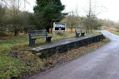 Ruspidge Halt former station   30/12/17