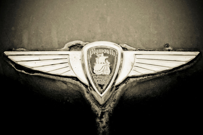 Plymouth Chrysler Emblem by Scott Mais