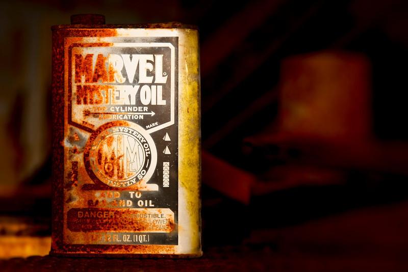 Mystery Oil by Scott Mais