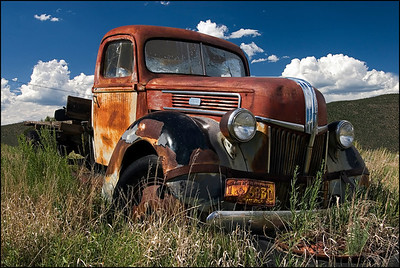 Old Truck in NM