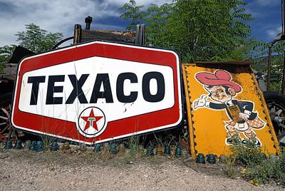 Texaco-Sign