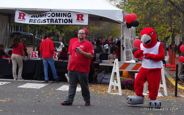 Rutgers-Camden soccer & homecoming 2013