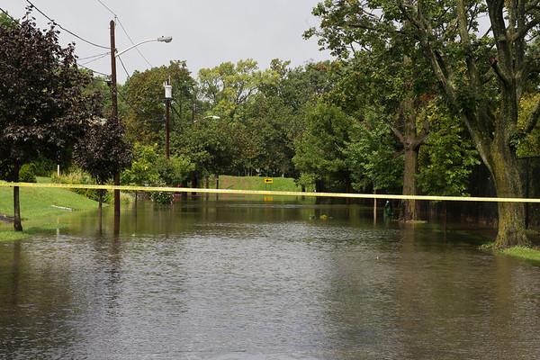 Flooded Washington Ave.