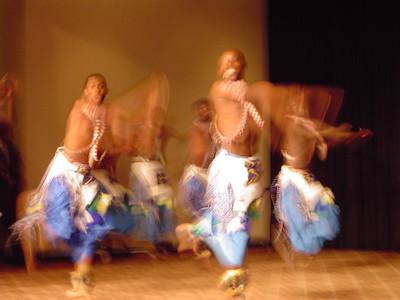 The Rwanda ballet.