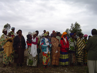 The women of Rwanda are incredibly gracious and always colorful.