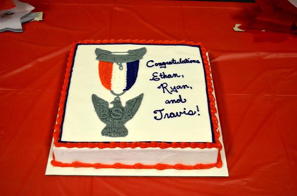 Ryan McDonough Eagle awardes