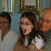 Emma and her Wilcken grandparents.