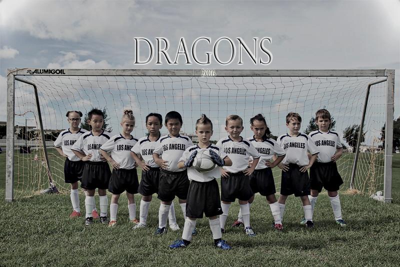 Dragons Soccer Team 2