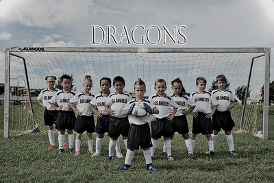 Dragons Soccer Team 2
