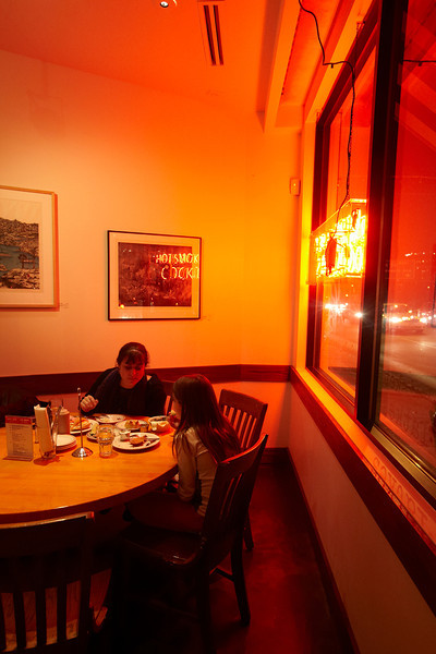 """Minneapolis, MN - JobNo_2035 - 0212 February 2012 - MNMO Minnesota Monthly: Rye Deli in Minneapolis • Shot List: Horizontal and vertical options<br /> - Bustling, energetic dining room (maybe some evening options, since we already have daytime options?)<br /> - 2 alternatives for a Pretty Food (one entree, one app or dessert, separate shots)<br /> - """"perfect dish"""" item : The Poutine (shot straight down, or Straight on, On White backdrop)<br /> - Action Shot: Server in Action, or Cook/Chef in action in kitchen (carving meat?) Date: Thursday December 15, 2011 Photo by © Todd Buchanan 2011 Technical Questions: tbuchanan@greenspring.com; Phone: 612-226-5154. Keywords: MNMO 0212 2035 Main Dine Review Rye Deli Folder Name: MNMO_0212_2035_Main_Dine_Review_Rye_Deli"""