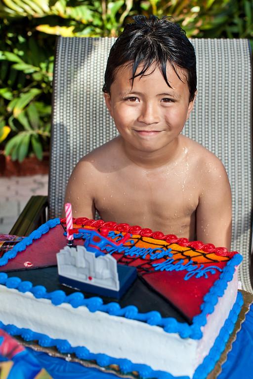 Ryland's 8th Birthday