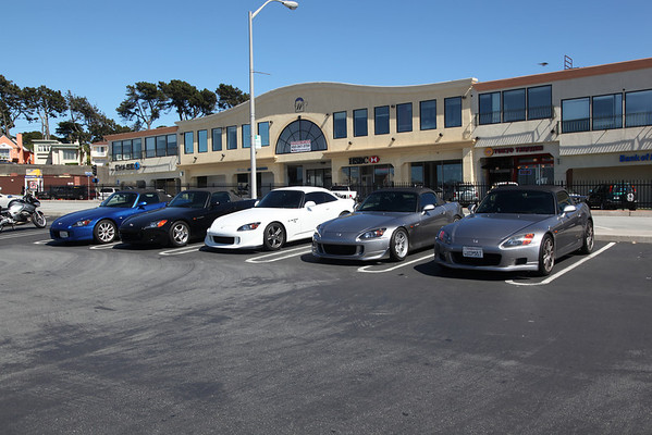 S2000 Meet in Daly City, Westlake Shopping Center. June 5, 2010