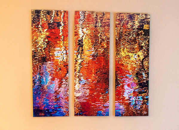 Water Colors Triptych
