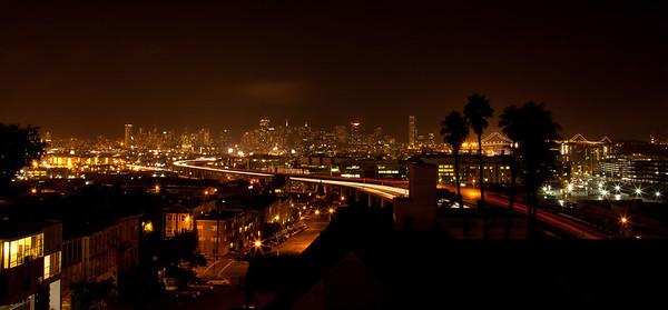 San Francisco In Her Evening Attir