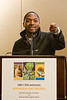 "Bryant Terry, ecochef, author, and food justice activist. ""When I say food, you say grub!"""