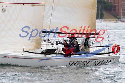 Shere Khan sailing to victory...