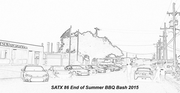 SATX 86 CLUB End of Summer BBQ Bash Meet