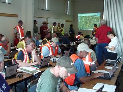 51 – Final Day Briefing - 62 SAVE Volunteers deployed – Toughbook data tablet training