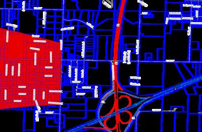 Area of Damage Maps for Joplin Tornado