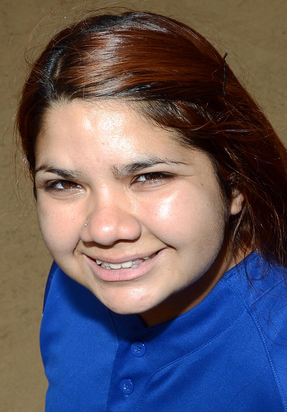 . Miranda Viramontes has been named to The Sun\'s All-Area softball team. Viramontes plays softball for Chino High School. Will Lester staff photo The Sun.
