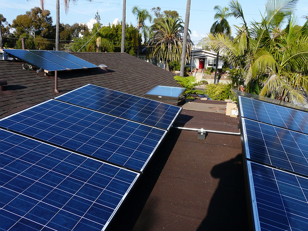 Love that solar!  Our home.<br /> San Diego, CA