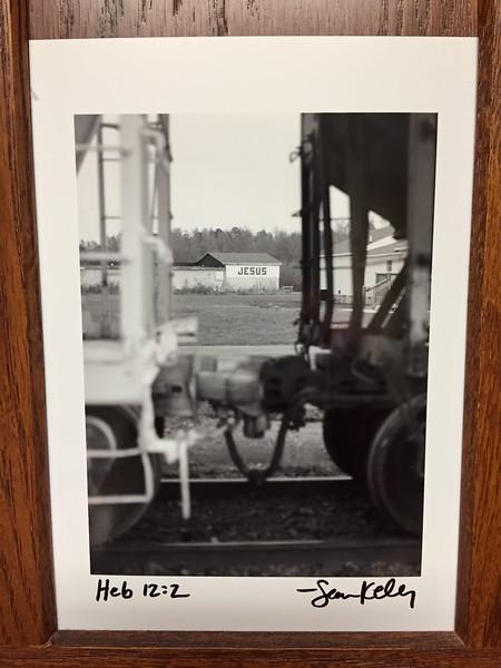 "One of my best selling images: ""Jesus-Train"". Georgetown, Delaware.1998"