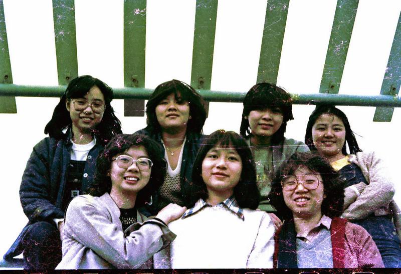 shcc memories<br /> Stella, Evia, Nancy, Liver<br /> Lana, Anne, Celina