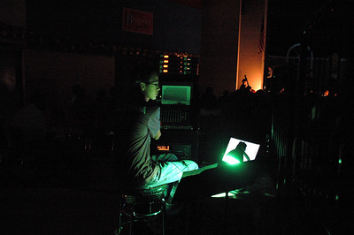 The Sound Man! Couldn't have done it without him. Giving props to the man behind the scene.