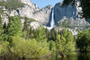 Yosemite Falls with Merced River