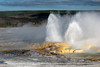 Geyser Basin at Yellowstone NP