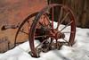 Old Wagon Wheel at Virginia City NV