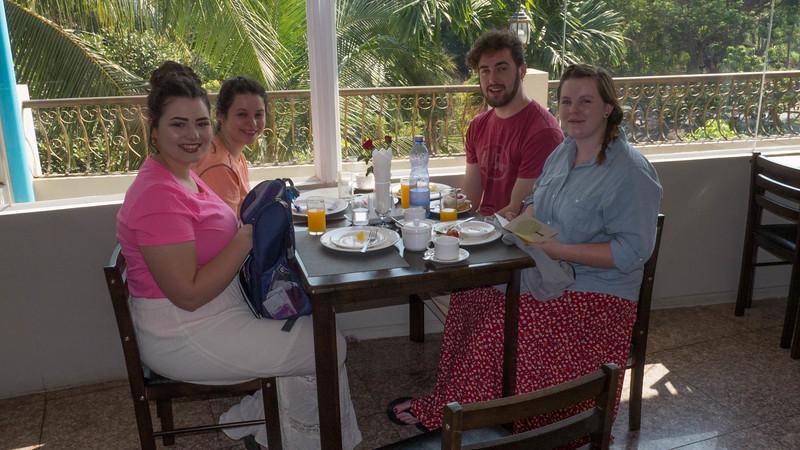 Breakfast at the Yangon Airport Hotel