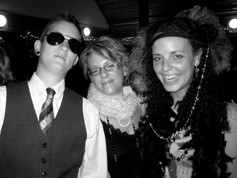 cole, charity and melissa (halloween)
