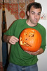 self portrait in a pumpkin