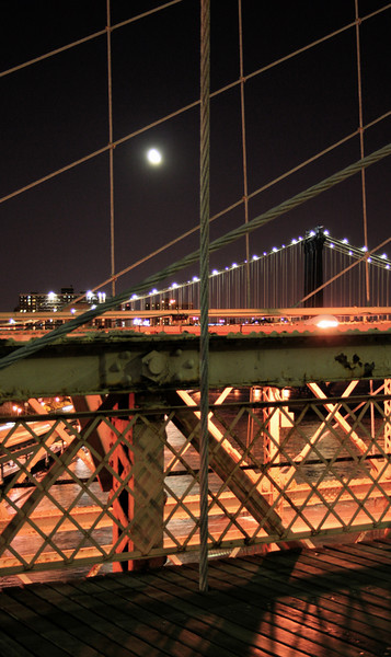 from the brooklyn bridge - nyc
