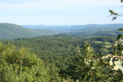 brattleboro from the top of black mountain