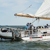 2016 - 57th Deal Island Race - Skipjack Rebecca T. Ruark  - 1st Place