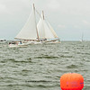 2013 54th Annual Deale Island Skipjack Race and Festival<br /> ALMOST a photo finish !!  for 2nd place