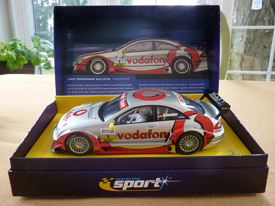 $50.00  SCALEXTRIC SPORT AMG Mercedes CLK-DTM Beautiful car, fast, powerful magnet.